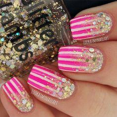 Million Dollar Gradient: Indie Gold Glitter by GlitterLambsPolish