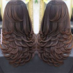 Frizura Charming Hairstyles for Mid-Length Hair for Summer 2019 - Page 5 of 20 - Fashion Medium Hair Cuts, Long Hair Cuts, Medium Hair Styles, Curly Hair Styles, Layers For Long Hair, Long Layered Hair Wavy, Medium Cut, Curly Short, Medium Layered