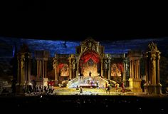Don Giovanni by Wolfgang Amadeus Mozart on stage for the 90th Arena di Verona Opera Festival 2012 www.arena.it