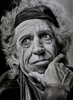 keith richards by luceene-k