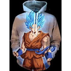 New 2017 Women Men Casual Sweatshirts Classic For Dragon Ball Z Super Character 3D Printed Anime Outerwear Galaxy Hoodies