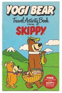 1986 Hanna-Barbera Yogi Bear Travel Activity Book by gregg_koenig, via Flickr