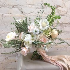 Bridal bouquet by The Garden Gate Flower Company