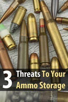 People don't normally think of ammo as having an expiration date, but if you don't store it properly, your ammunition can go bad very fast.