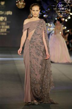 Dress Cute Elegant Colour 53 Ideas For 2019 Saree Gown, Lehnga Dress, Saree Draping Styles, Saree Styles, Designer Sarees Wedding, Designer Dresses, Indian Wedding Outfits, Indian Outfits, Wedding Dress