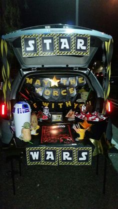 Trunk Or Treat Decorating Ideas Star Wars Architectural Design
