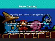 Retro Games are the Most Addicting Games Online! Retro Games, Space Invaders, School Games, Best Games, Online Games, Super Mario, Star Wars, Entertaining, Classic