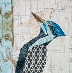 Stunning Woodpecker Block Pattern - Making nature quilts is an amazing way to pay tribute to Mother Nature while enjoying your favorite hobby. This absolutely stunning and intermediate sewing pattern is the perfect quilting pattern for the nature nut in your life. Intricate, lovely, and as beautiful as the real thing, the Stunning Woodpecker Quilt Block will be a challenge to make, but totally worth the effort. This quilt block pattern is gorgeous enough to frame as a piece of art.