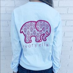 Ivory Ella Pocketed Long Sleeve only worn once or twice. just like new ivory ella Tops Tees - Long Sleeve