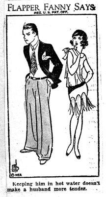 Flapper Fanny: The Girl Who Always Knew What To Say - retro pin Vintage Humor, Vintage Comics, Vintage Posters, Vintage Art, Classical Art Memes, Art Deco Era, A Comics, Paris, Art Sketchbook