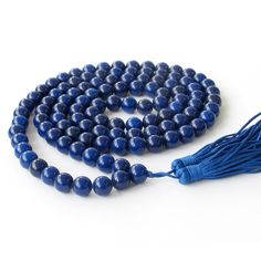 tibet lapis lazuli - prayer beads