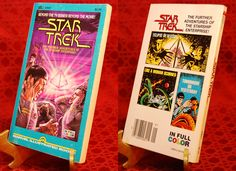 """http://www.webstore.com/52053043 """"Beyond the TV series! Beyond the Movie!"""" So reads the titling across the top of the cover. Marvel began publishing a Star Trek series of comics a few months after the debut of """"Star Trek: The Motion Picture."""" There were 18 issues in all, ending with the February 1982 issue. This paperback comic (ISBN: 0939766000) contains three of those 18 adventures: Eclipse Of Reason (#12), Like A Woman Scorned (#11), and Tomorrow or Yesterday (#7)."""