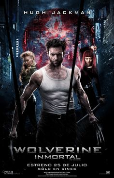 The Wolverine Movie Poster ( of The Wolverine, Wolverine Poster, Wolverine Movie, Man Movies, Comic Movies, Marvel Movies, Superhero Movies, Hugh Jackman, Love Movie