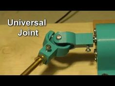 Two different universal joint shaft couplings connect a motor to a worm gear. One the two designs works better than the other one. I designed in in OpenSCAD . Rube Goldberg Machine, Magic Herbs, Pop Bubble, Universal Joint, Oddly Satisfying, Pretty Cool, Artist At Work, 3d Printing, Industrial Design