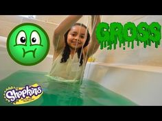 Squishy Slime Baff Toy Challenge | Super Gross | Shopkins | Toy Prizes - YouTube