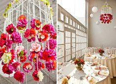 DIY Decoração: Maio Mês das noivas: Decorações DIY para casamentos