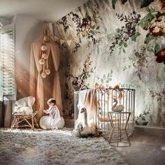 Do It Yourself nursery and baby room decorating! Great deals of baby room decor suggestions! Baby Bedroom, Baby Room Decor, Nursery Room, Girl Nursery, Girls Bedroom, Nursery Decor, Bedrooms, Baby Playroom, Garden Nursery