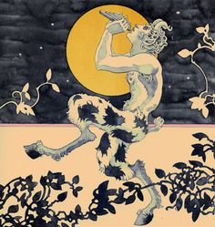 Unknown Artist - Spotted Satyr. Tags: satyrs, mythological creatures,