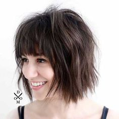 40 best edgy haircuts ideas to update your usual styles best hairstyles haircuts Edgy Hair Edgy Haircuts Hairstyles Ideas Styles update Usual Shaggy Bob Hairstyles, Shaggy Bob Haircut, Short Haircuts With Bangs, Layered Bob Haircuts, Edgy Haircuts, Bob Haircut With Bangs, Hairstyles With Bangs, Layered Bob With Bangs, 2018 Haircuts