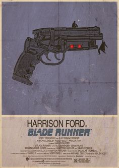 blade runner. poster by 3ftDeep. Minimal Movie Posters, Cool Posters, Music Posters, Fan Art, Ridley Scott Blade Runner, Blade Runner Poster, Blade Runner 2049, Trailers, Love Movie