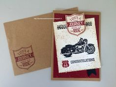 Laura's Creative Moments: ONE WILD RIDE - STAMPIN' UP!