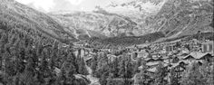 Ski town in southern Switzerland