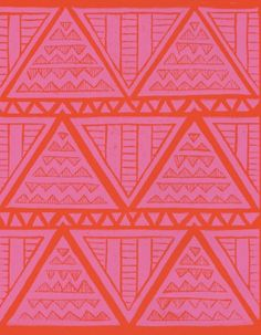 #avenueplus  Aztec Pink/Orange Global