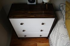 Before & After: Kate's Ikea Rast Dresser Hack — Two-toned Dressers
