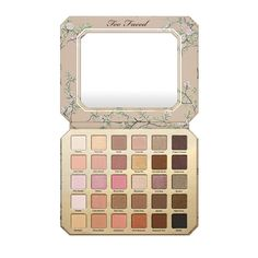 As one of Too Faced's biggest palettes yet, this limited-edition 30-shade eye-shadow palette comes complete with creamy matte and metallic neutrals. The cruelty-free company merged all your favorite shadows from its popular Natural palettes, as well as a shade or two from the Nikkie Tutorials collab.