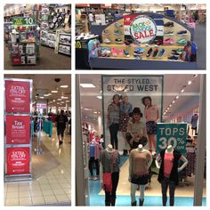 #OhioTaxFreeWeekend has inspired some great deals! | Justice, Shoe Department, Macy's, and Kitchen a Collection are pictured.