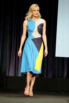 Best Dressed - Diane Kruger in a Roksanda dress