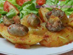 Rețetă Cartofi la tavă cu ciuperci de Elucubratiiculinare - Petitchef