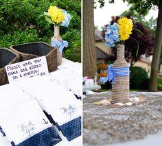 Sarahs Nautical Bridal Shower Colby Elizabeth Photography