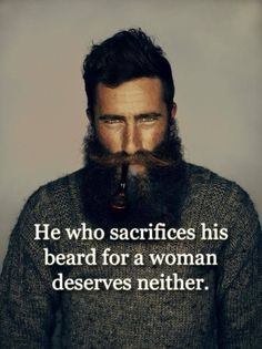 Never shave !