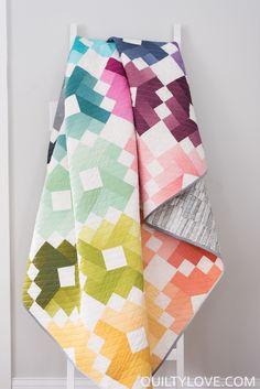 Ombre Gems Paper Quilt Pattern **Pre-order** / EmilyDennis