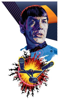 These illustrations are a series of concept posters for the original Star Trek series. Star Trek Tattoo, Star Trek Wallpaper, Star Trek Original Series, Star Trek Series, Star Trek Spock, Star Trek Tos, Vaisseau Star Trek, Star Trek Posters, Star Trek Images