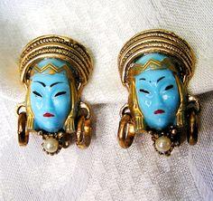 vintage Selro earrings