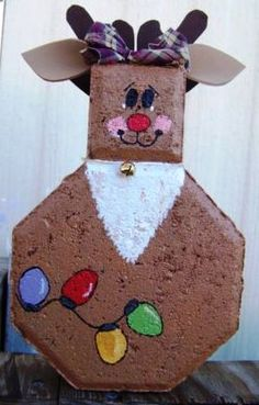 1000 Images About Make Holiday Paver People On Pinterest