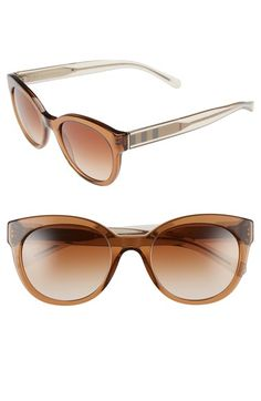 34d9ce25e43 Burberry Retro Sunglasses available at Nordstrom.