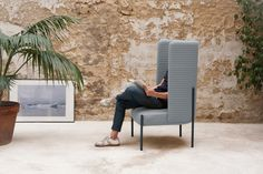 The Ara armchair designed by PerezOchando for Missana