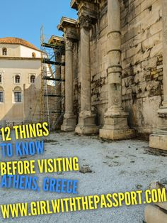 12 things you should know before visiting Athens, Greece.