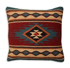 Hand Woven WOOL Throw Pillow Cover Southwest Mexican Tribal Native American Style (Veracruz) Southwest Boutique http://www.amazon.com/dp/B0189QRE64/ref=cm_sw_r_pi_dp_LILzwb0W4RJ35