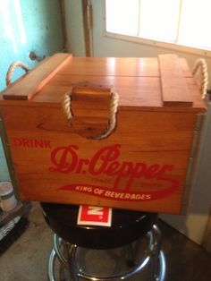 Dr Pepper cooler 100 yr anniversary edition by kevinstreasuries, $150.00