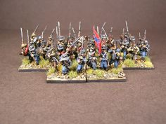 Confederate Infantry   by martin.tagima Tabletop Games, American Civil War, Civilization, Blessed, Miniatures, God, America Civil War, Dios, Board Games