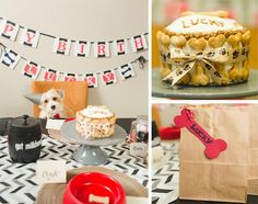 Doggy Birthday Party + For Dogs with Lots of Fun Ideas via Kara's Party Ideas