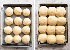 No stand mixer, no knead, no special equipment required. These No Knead Dinner Rolls are perfectly soft and fluffy and are astonishingly effortless to make. Just combine the ingredients in a bowl and Fluffy Dinner Rolls, Homemade Dinner Rolls, Dinner Rolls Recipe, Dinner Bread, Cooking Bread, Bread Baking, Recipetin Eats, Bread Rolls, Yeast Rolls