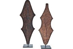 African Currency Shields, Pair on OneKingsLane.com