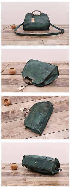 Leather Women Satchel Shoulder Bag Handbag