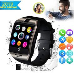 CNPGD All-in-1 Weather Proof Smartwatch Watch Cell Phone for Android, Samsung, Galaxy Note, Nexus, HTC, Sony (Black, M)