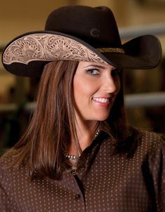 Charlie 1 Horse Deuces Wild Western Hat is the look that fashion forward  cowgirl wants to show off her unique style. 3c3f33c266d
